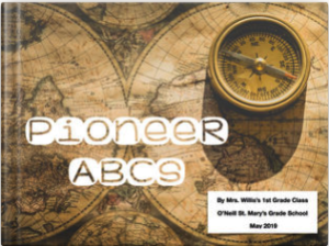 Pioneer ABCs book cover